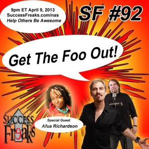 SF-0092 - 2013.04.09 - Get the Foo Out! - Guest Starring Afua Richardson - ALBUM ART