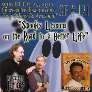 Success Freaks #121 - Spooky Lessons on the Road to a Better Life
