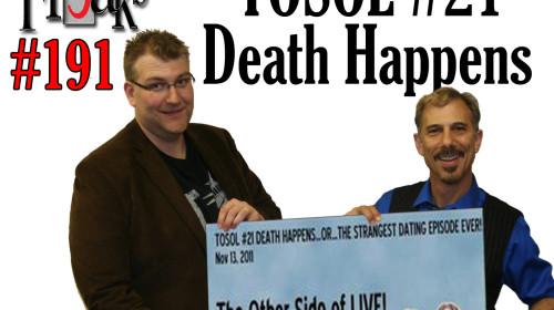 SF #191 - Revisiting TOSOL #21 Death Happens - ALBUM ART-AR