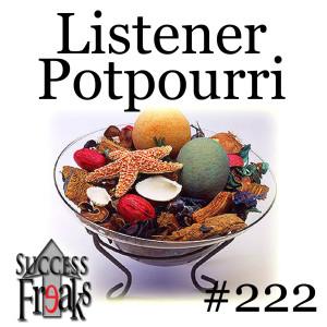 SF #222 - Listener Potpourri - ALBUM ART-AR