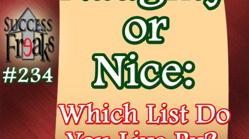 SF #234 - Naughty or Nice... Which List Do You Live By - ALBUM ART-AR
