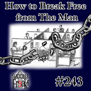 SF #243 - How to Break Free from The Man - ALBUM ART-AR