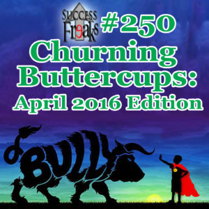 SF #250 - Churning Buttercups- April 2016 Edition - ALBUM ART-AR