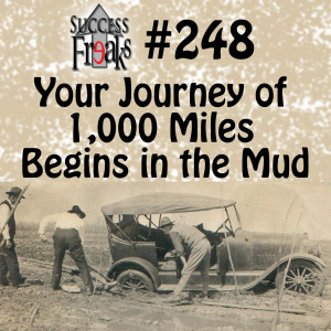 Sf #248 - Your Journey of 1,000 Miles Begins in the Mud - ALBUM ART-AR